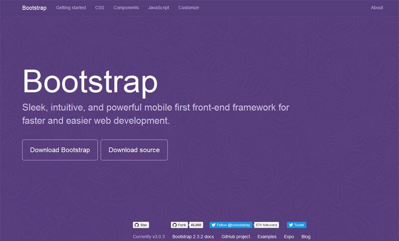 Bootstrap ver 3 screenshot